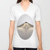 reading V-neck T-shirts featuring Reading is . . . by Brown Eyed Lady