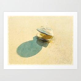 Clam Art Print
