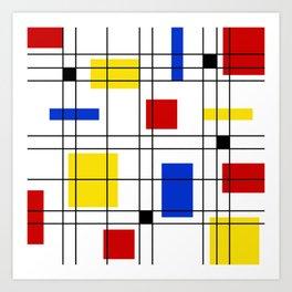 Neo-Plasticism 1 Art Print