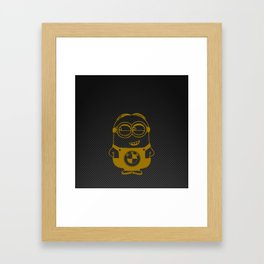 Carbon minion Framed Art Print