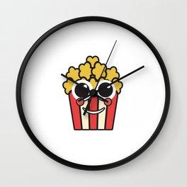 popcorn cinema popcorn bag corn bag Wall Clock