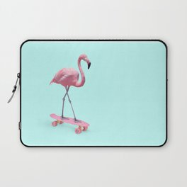 SKATE FLAMINGO Laptop Sleeve