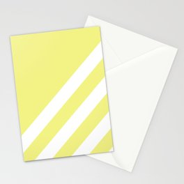 Simple Lines, Light Yellow Stationery Cards