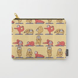 Sloth Yoga Carry-All Pouch