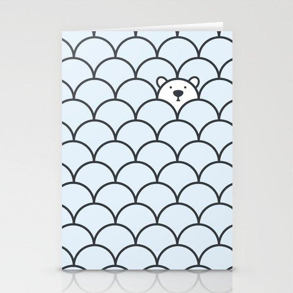 The Last Polar Bear Stationery Cards