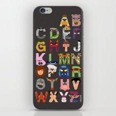 TMNT ABCs iPhone & iPod Skin