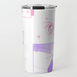 sailormoon fanart Travel Mug