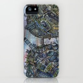 Tselinograd - Astana - Inception iPhone Case