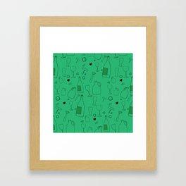 Drink Up Framed Art Print