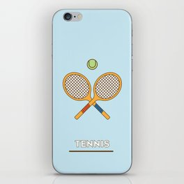 I am the sport! part3 tennis iPhone Skin