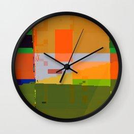lookin' forward to spring Wall Clock