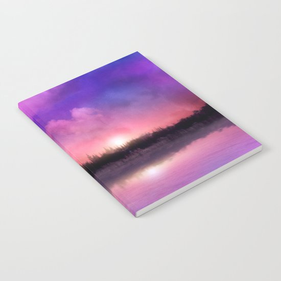 Sunset magic Notebook