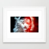 les miserables Framed Art Prints featuring Les Miserables by Wandering Mel
