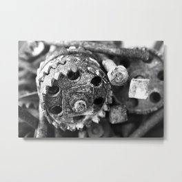 Metall Metal Print