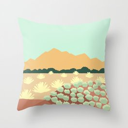 Santa Fe, New Mexico Throw Pillow