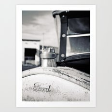 Ford details Art Print