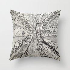 'Tangled Tree Throw Pillow