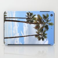 palm trees iPad Cases featuring Palm Trees by Rebecca Bear
