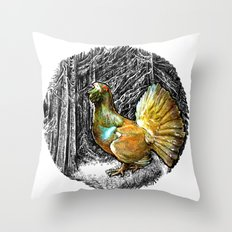 Call for love Throw Pillow