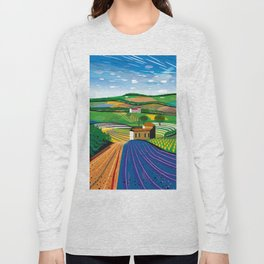 Lavender Farm Long Sleeve T-shirt