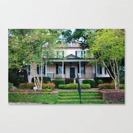 Stewart Parker House Front Canvas Print