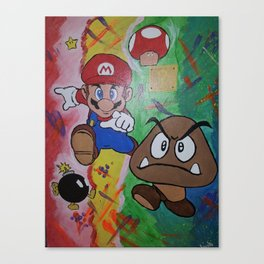 Mushroom World Canvas Print
