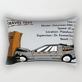 Travel test Rectangular Pillow