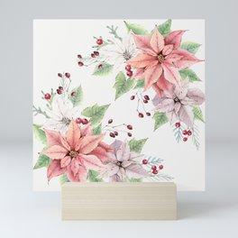 Poinsettia 2 Mini Art Print