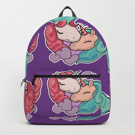 Loving Unicorn Family Backpack