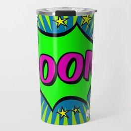 Boom Lime Boom Travel Mug