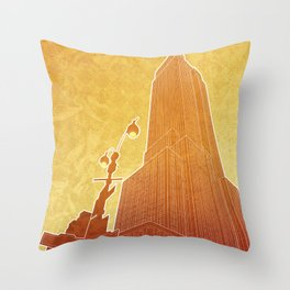 New Empire City Throw Pillow