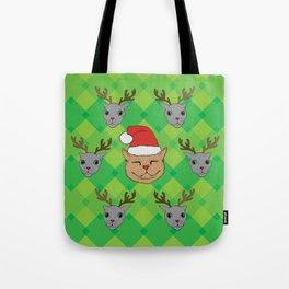 Christmas Kittens Tote Bag