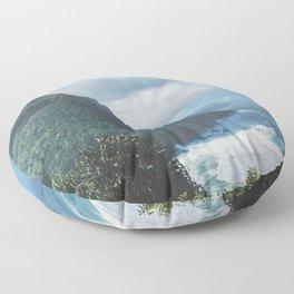 Na Pali Coast Kauai Hawaii Floor Pillow