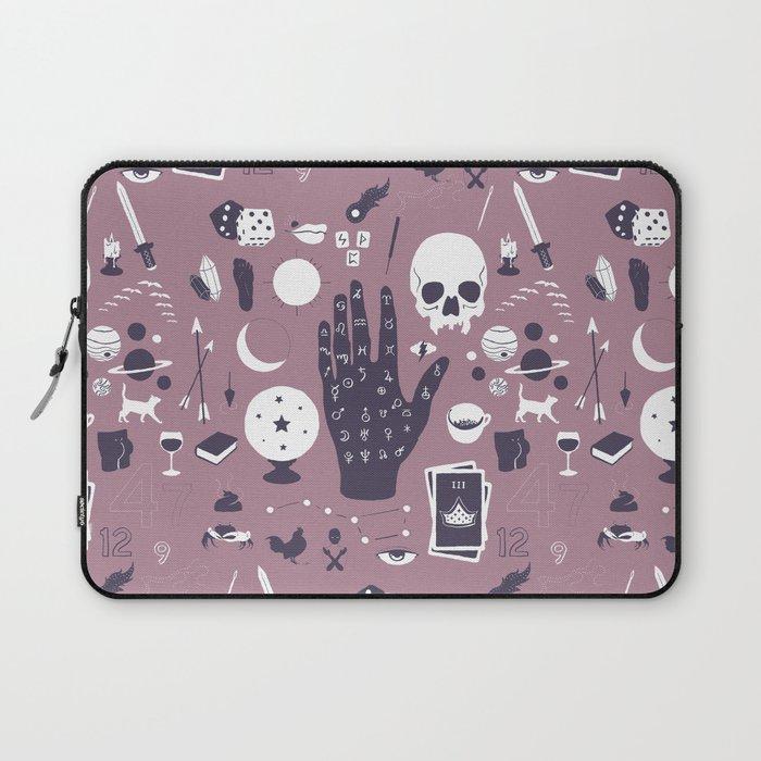 Methods of Divination - Purple Laptop Sleeve