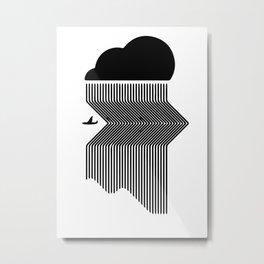 Passing the storm Metal Print