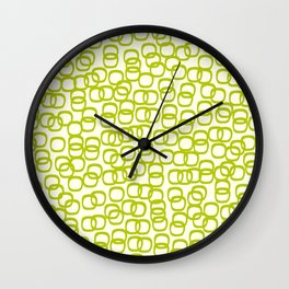 Black Tie Collection Links Olive Wall Clock