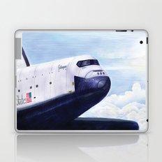 Enterprise Through The Clouds - Drawing Laptop & iPad Skin