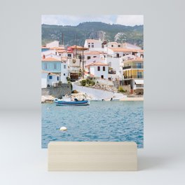 Pastel Traveling   Colorful   Fine art   Travel photography   Poster   Art Print   Greece Mini Art Print
