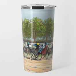 Stay In The Race Travel Mug