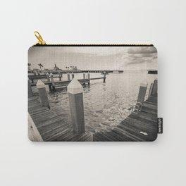 """B&W Marina Dock Bay"" Carry-All Pouch"