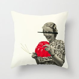 Jelly Addict Throw Pillow