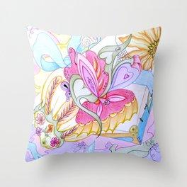 Fantasy Present Throw Pillow
