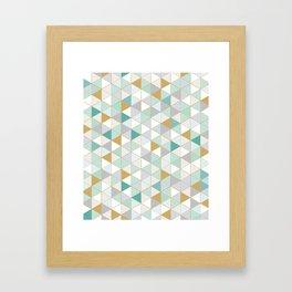GOLDMINT Framed Art Print