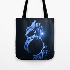 Digital Anemone Tote Bag