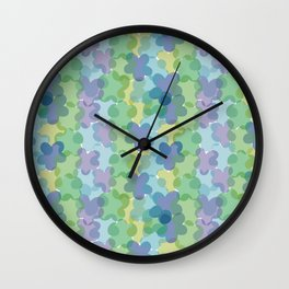 Japanese background Wall Clock