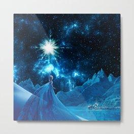Frozen - Elsa Metal Print