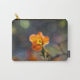 Tiny Orange Bokeh Delight Carry-All Pouch