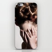 antler iPhone & iPod Skins featuring ANTLER by MCGRORY