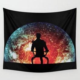 Illusive man ( Mass Effect ) Wall Tapestry