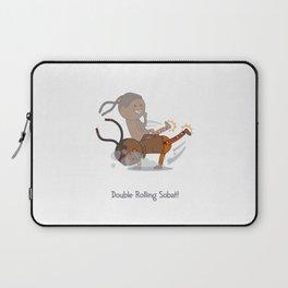 Double Rolling Sobat! Laptop Sleeve